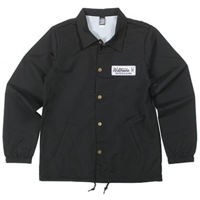 The Original Watermen Rincon Windbreaker - Black