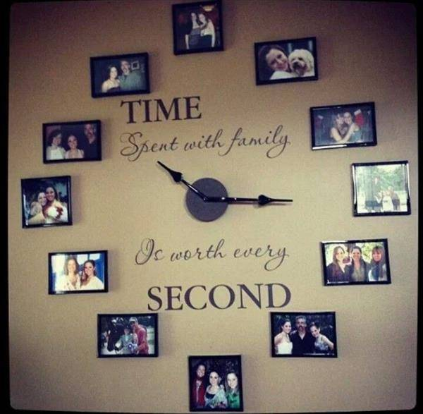 nice-clock-with-pictures-of-family