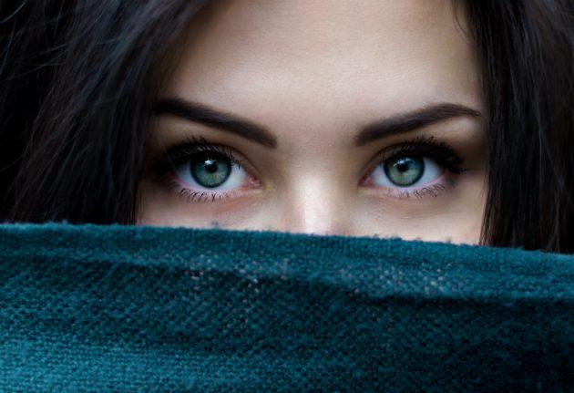 мимическая гимнастика: глаза