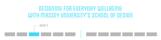 Designing For Everyday Wellbeing - Week 3