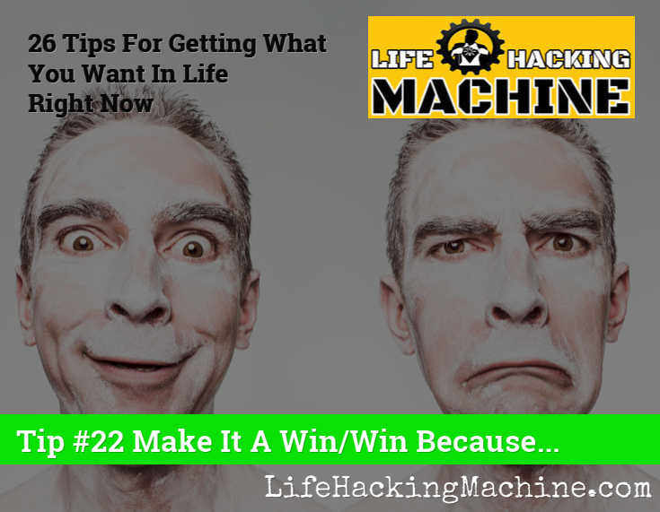 Lifehackingmachine dot com life hacks blog win win