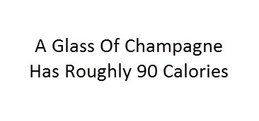 calories in champagne