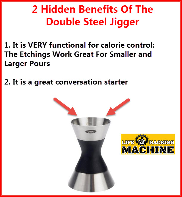 double steel jigger