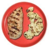 Food Hack - Chicken and Cauliflower - Eat to lose weight on the lifehackr diet plan.