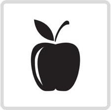 Apple icon for the lifehackr diet plan - http://lifehackrdiet.com