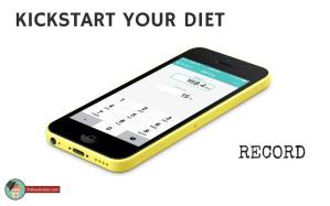 kickstart your Lifehackr Diet record instructions using the Fitbit app