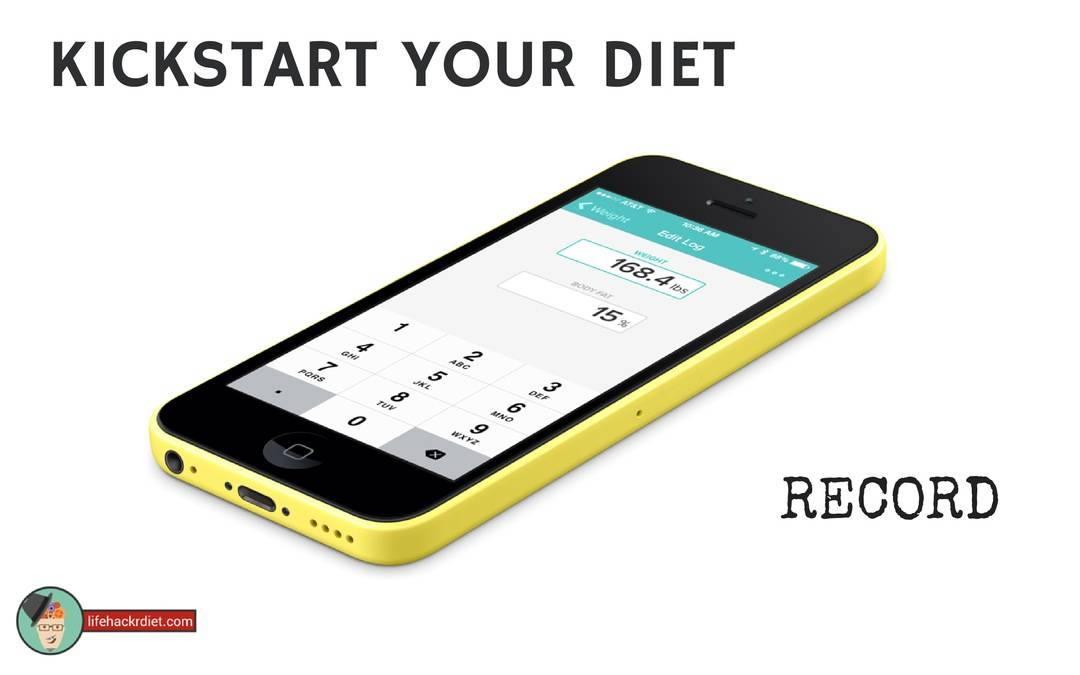 Kickstart Your Diet! Record.