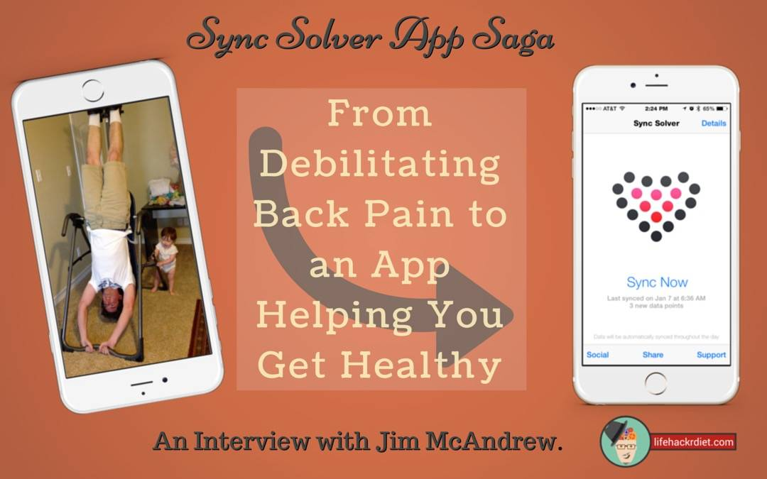 014 – Sync Solver App Saga; From Debilitating Back Pain to an App Helping You Get Healthy: An Interview with Jim McAndrew.