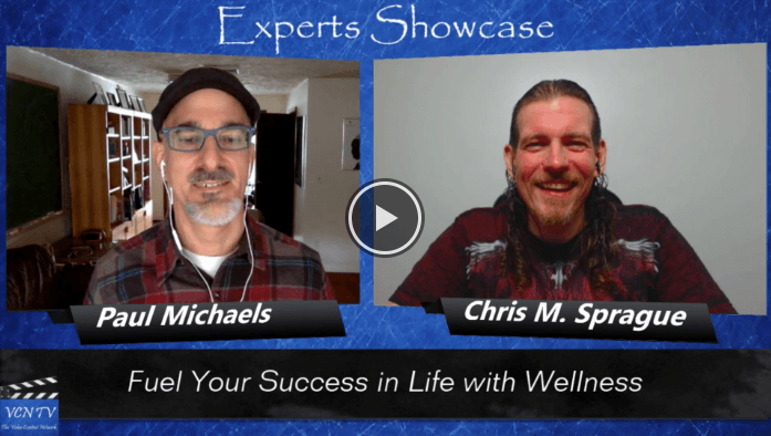"LifehackrDiet's Paul Michaels featured on the ""Experts Showcase VCN TV"""