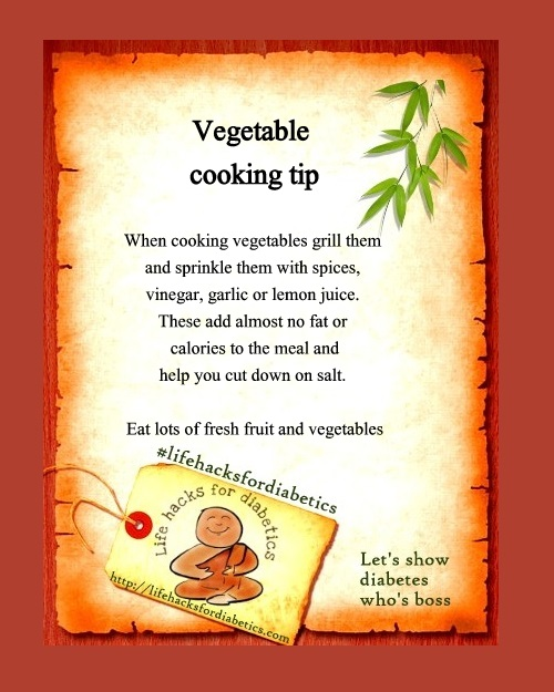 LifeHacksForDiabetics Vegetable