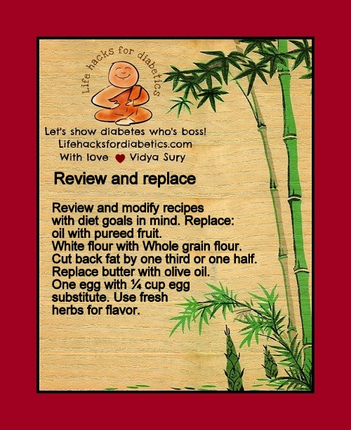 Review and replace Vidya Sury