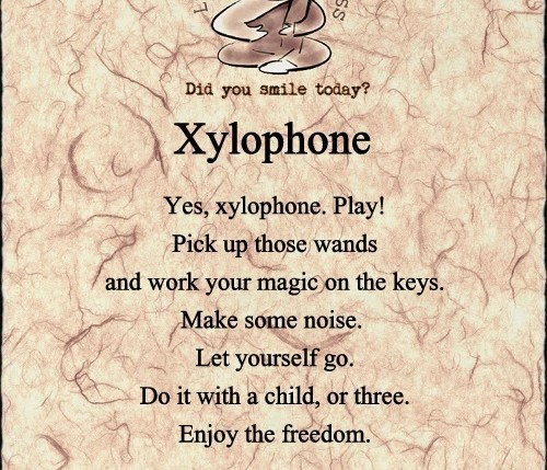 life hacks for happiness xylophone