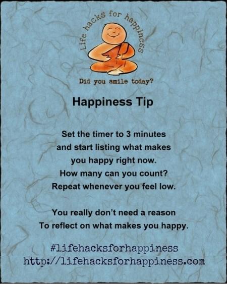 Vidya Sury Lifehacks Happiness happiness tip