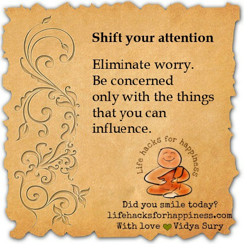 Shift your attention