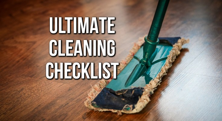 Cleaning Checklist - Featured