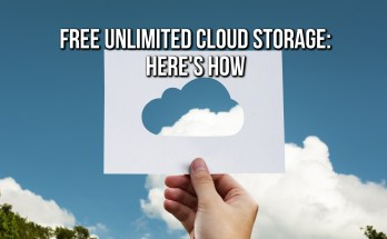 Free Unlimited Cloud Storage