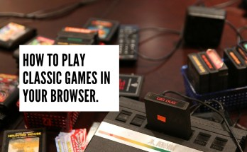 How to play classic video games in your browser tutorial