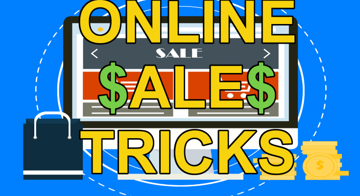 Online Shopping Tricks Sales