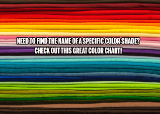 COLOR NAMES FEATURED