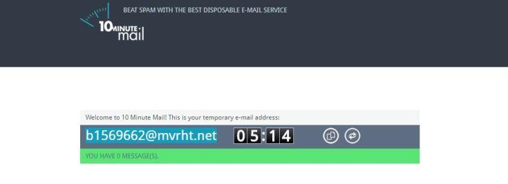 Ten Minute Mail