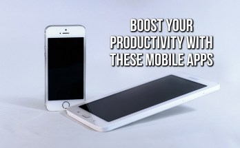 Boost Productivity With Mobile Apps