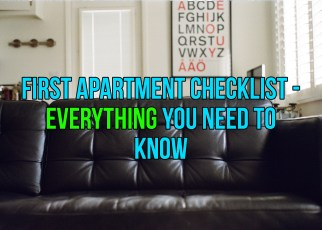 First Apartment Checklist - Life Hacks