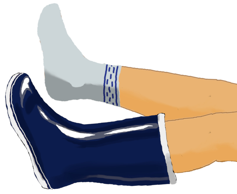 長靴イラスト