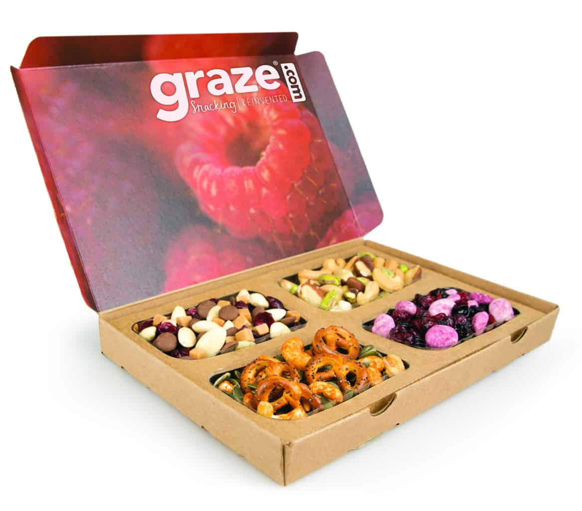 Discounts average $12 off with a Graze promo code or coupon. 13 Graze coupons now on RetailMeNot. Log In / Sign up. $ Cash Back Get Wholesome snacks delivered + Join Graze today and get your first box FREE. Include nearby city with my comment to help other users including Graze, in the Best of RetailMeNot emails. Please enter a.