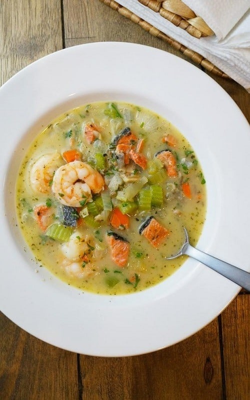 Triple Seafood Chowder