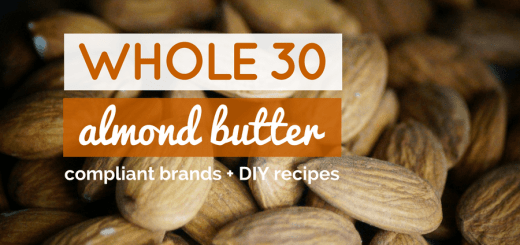 whole30 almond butter