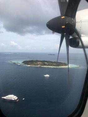 wispy na Malediwach