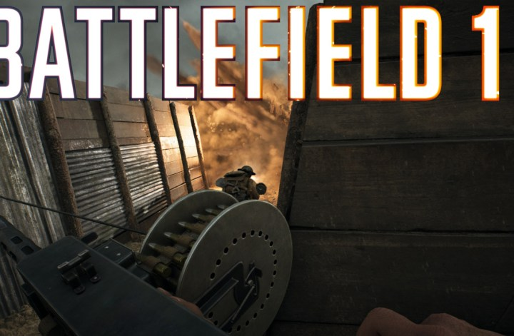Battlefield 1 trench WW1