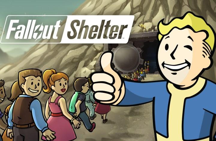 fallout shelter title logo