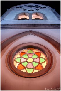 Chapel on haunted hill Rose Window