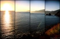 Multi lens effect.