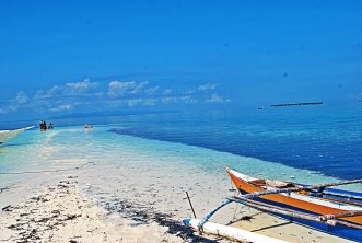 Virgin Island sandbar