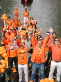 Getting into the spirit of Queen's Day