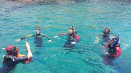 Sea Trek Benidorm Diving Stones