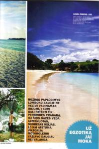 Kelionių istorijos iš aplankytų Indonezijos salų