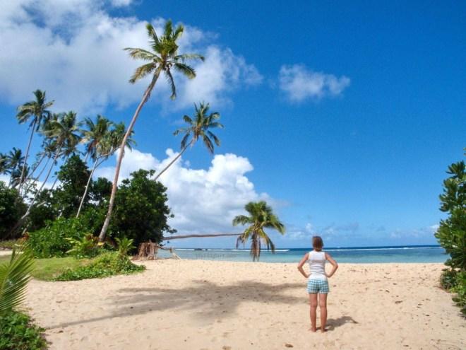 Kelionė į Fidžį - paplūdimys