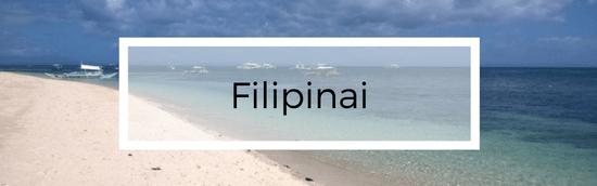 Aplankytos šalys - Filipinų salos