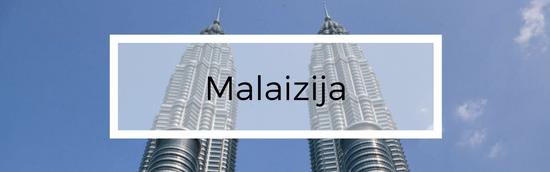 Aplankytos šalys - Malaizija