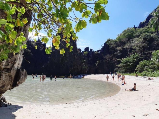 Hidden paplūdimys, El Nido, Palawan