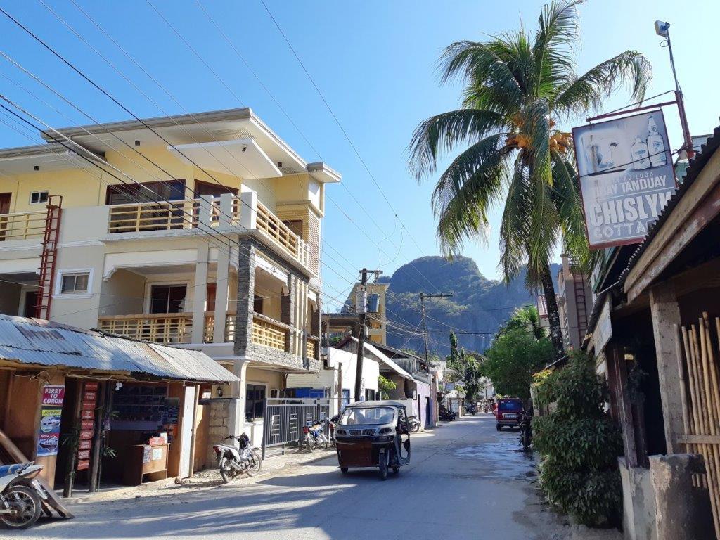 El Nido miestelio gatvė
