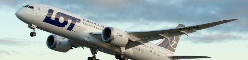 LOT Lenkijos oro linijų lėktuvas