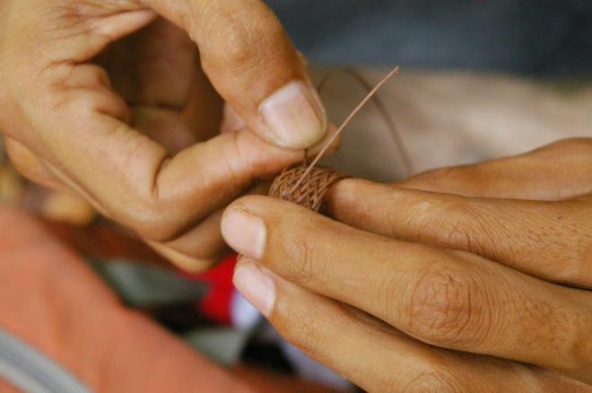 Žiedas iš Borneo augmenijos
