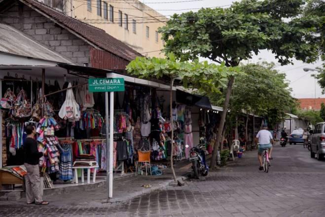 Sanuro miestelio gatvė