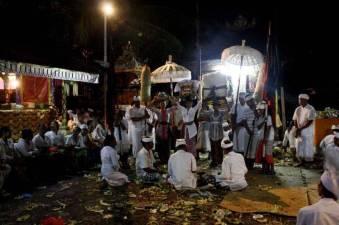 Nyepi procession