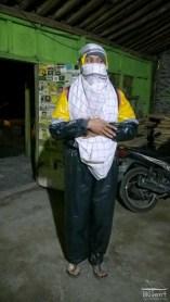 Trekking clothes for mount Merapi