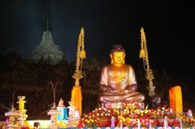 Buddha statue in Vesak day